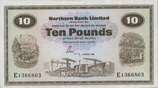 10 Pounds 01.3.1981 Nord-Irland P.189d unc...