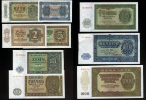 50 Pfennig-1.000 Mark 1948 DDR-DEUTSCHE NO...