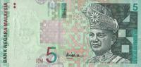 5 Ringgit ND(2001) Malaysia Pick 41a unc/kassenfrisch  6,00 EUR  +  8,50 EUR shipping