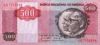 500 Kwanzas  Angola Pick 120a unc/kassenfrisch  30,00 EUR  +  10,50 EUR shipping