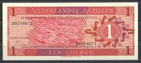 1 Gulden 08.9.1970 Niederlaendische Antillen Pick 20a unc  1,50 EUR  zzgl. 3,95 EUR Versand