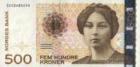 500 Kroner 2002 Norwegen Pick 51c unc/kassenfrisch  125,00 EUR