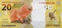 20 Reais 2010/2012 Brasilien Pick 255 Serie A. unc/kassenfrisch  15,00 EUR  zzgl. 3,95 EUR Versand