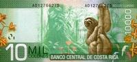 10.000 Colones  Costa-Rica Pick 277 unc/kassenfrisch  35,00 EUR  zzgl. 4,50 EUR Versand