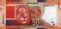 50 Rand (2012) Süd-Afrika Pick 135 unc/kassenfrisch  9,95 EUR  zzgl. 3,95 EUR Versand