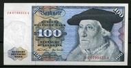 100 Mark 1970 Deutsche Bundesbank Ersatznote ZN Ros.273c unc/kassenfrisch  350,00 EUR  zzgl. 4,50 EUR Versand