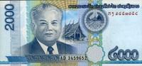 2.000 Kip 2011 Laos P.41 unc/kassenfrisch  1,00 EUR