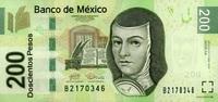 200 Pesos 03.5.2010 Mexico Pick 125 unc/kassenfrisch  25,00 EUR  zzgl. 4,50 EUR Versand