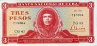 3 Pesos 1985 Cuba Pick 107a unc/kassenfrisch  8,95 EUR  zzgl. 3,95 EUR Versand