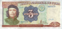 3 Pesos 1995 Cuba Pick 113 unc/kassenfrisch  6,00 EUR  zzgl. 3,95 EUR Versand