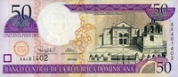 50 Pesos Oro 2000 Dominikanische Republik Pick 161a unc/kassenfrisch  7,00 EUR  +  8,50 EUR shipping