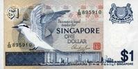 1 Dollar ND(1976) Singapore P.9 unc/kassenfrisch  2,50 EUR  zzgl. 3,95 EUR Versand