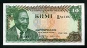 10 Kumi 01.7.1978 Kenia Pick 16 unc/kassenfrisch  2,50 EUR  +  8,50 EUR shipping