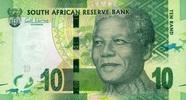 10 Rand 2012 Süd-Afrika Pick 133 unc/kassenfrisch  2,50 EUR  zzgl. 3,95 EUR Versand