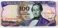 100 Pesos 01.1.1977 Kolumbien Pick 418a unc/kassenfrisch  4,50 EUR  +  8,50 EUR shipping