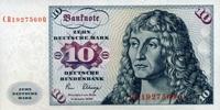 10 Mark 02.1.1980 Deutsche Bundesbank Ros.286a unc/kassenfrisch  15,00 EUR  zzgl. 3,95 EUR Versand