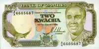 2 Kwacha 1989 Zambia Pick 29a unc/kassenfrisch  4,00 EUR  zzgl. 3,95 EUR Versand