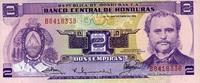 2 Lemiras 23.9.1976 Honduras Pick 61 unc/kassenfrisch  5,00 EUR