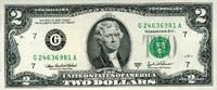 2 Dollars Serie 2003A USA Pick 516b-G unc/kassenfrisch  4,00 EUR