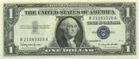 1 Dollar 1957B USA Pick 419b unc/kassenfrisch  21,50 EUR  zzgl. 4,50 EUR Versand