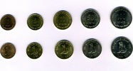 Set 5 1999 Myanmar  Bankfrisch  4,50 EUR