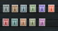 11 Werte 1942/44 Deutsches Reich.(Dienstmarken) - 2.März.Dienstmarken d... 17,00 EUR  zzgl. 3,95 EUR Versand