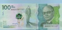 100.000 Pesos 08.8.2014(2016) Kolumbien - New Design - Polymer - Carlos... 70,00 EUR  zzgl. 4,50 EUR Versand