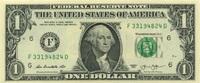 1 Dollar Serie 2013 USA P.536-F/2013 unc/kassenfrisch  2,00 EUR  zzgl. 3,95 EUR Versand