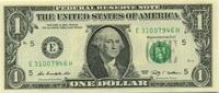 1 Dollar Serie 2009 USA P.530-E unc/kassenfrisch  2,00 EUR  zzgl. 3,95 EUR Versand