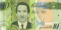 10 Pula 2012 Botswana P.30c unc/kassenfrisch  3,00 EUR  zzgl. 3,95 EUR Versand