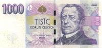 1.000 Korun 2008 Tschechische Republik P.25b unc/kassenfrisch  70,00 EUR  zzgl. 4,50 EUR Versand