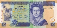 2 Dollars 01.11.2014 Belize P.66e/2014 unc/kassenfrisch  3,00 EUR  zzgl. 3,95 EUR Versand