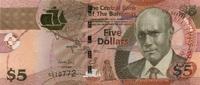5 Dollars Serie 2013 Bahamas P.72b/2013 unc/kassenfrisch  15,00 EUR  zzgl. 3,95 EUR Versand