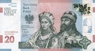 20 Zlotych 23.11.2015 Polen-Gedenkausgabe- - 1050 JAHRE CHRISTIANISIERU... 36,00 EUR  zzgl. 4,50 EUR Versand