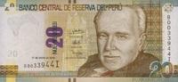 20 Nuevos Soles 17.1.2013 Peru P.183b/2013 unc/kassenfrisch  14,00 EUR  zzgl. 3,95 EUR Versand
