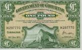 1 Pound 20.11.1971 Gibraltar P.18b unc/kassenfrisch  100,00 EUR  zzgl. 4,50 EUR Versand