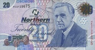 20 Pounds 06.11.2005 Nord-Irland P.207a/2005 unc/kassenfrisch  80,00 EUR  zzgl. 4,50 EUR Versand