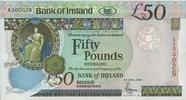 50 Pounds 05.4.2004 BANK OF IRELAND P.81/2004 unc/kassenfrisch  190,00 EUR  zzgl. 4,50 EUR Versand