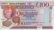 100 Pounds 01.3.2005 BANK OF IRELAND P.82/2005 unc/kassenfrisch  410,00 EUR  zzgl. 4,50 EUR Versand