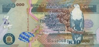 10.000 Kwacha 2003 Zambia P.46a unc/kassenfrisch  12,00 EUR  zzgl. 3,95 EUR Versand