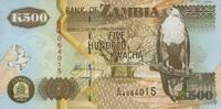 500 Kwacha 2003 Zambia P.42b unc/kassenfrisch  1,50 EUR  zzgl. 3,95 EUR Versand