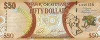 50 Dollars (2016) Guyana P.41 - New Design - 2016 - unc/kassenfrisch  1,20 EUR  zzgl. 3,95 EUR Versand