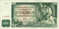 100 Korun 1961 Tschechoslowakei P.91a unc/kassenfrisch  9,00 EUR  zzgl. 3,95 EUR Versand
