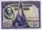 100 Pesetas 05.5.1928 Spanien P.76 au/unc  42,00 EUR  zzgl. 4,50 EUR Versand