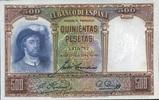 500 Pestas 25.4.1931 Spanien P.84 unc/kassenfrisch  115,00 EUR  +  16,00 EUR shipping