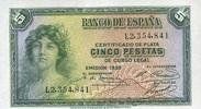 50 Pestas 1938 Spanien P.85a unc/kassenfrisch  12,00 EUR  +  8,50 EUR shipping
