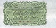 5 Korun 1953 Tschechoslowakei P.80b unc/kassenfrisch  6,00 EUR  +  8,50 EUR shipping