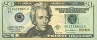 20 Dollars 2004 USA - Richmond - unc/kassenfrisch  32,00 EUR  +  10,50 EUR shipping
