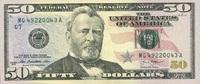 50 Dollars Serie 2013 USA - Chicago - unc/kassenfrisch  75,00 EUR  +  16,00 EUR shipping