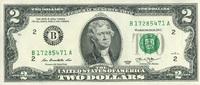 2 Dollars Serie 2013 USA - New York - unc/kassenfrisch  3,95 EUR  +  8,50 EUR shipping